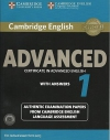 Cambridge English: Advanced with Answers 1