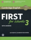 Cambridge English First for Schools 3 with answers with Audio