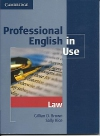 Professional English In Use : Law