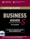 Cambridge English Business 5 Higher with answers