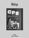 CPE Use of English Answer Key