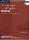International Legal English Second Edition Podręcznik