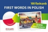 100 flashcards First Words in Polish